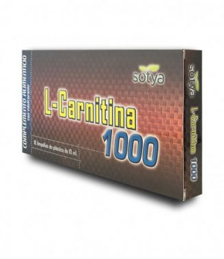 L-CARNITINA 1000MG 10ML AMPOLLA PLÁSTICO 10U