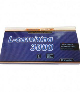 L-CARNITINA 3000MG 10ML AMPOLLA PLÁSTICO 10U