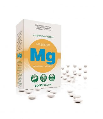 MAGNESIO MG 30 COMPRIMIDOS SORIA NATURAL