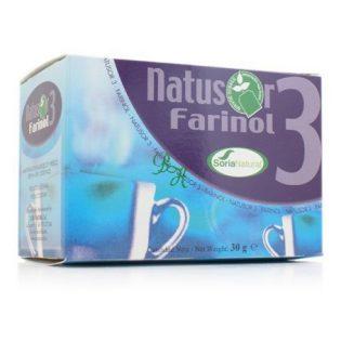 NATUSOR 3 FARINOL 20 FILTROS SORIA NATURAL