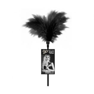 PLUMERO GP SMALL FEATHER TICKLER NEGRO