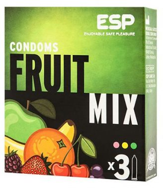 ESP PRESERVATIVOS FRUIT MIX