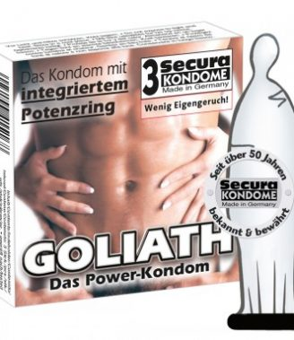 SECURA KONDOME PRESERVATIVOS GOLIATH X3