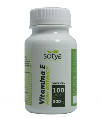 VITAMINA E HIGH POTENCY 100 CAPS 500MG