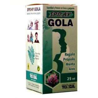 SPRAY GOLA 25 ML TONGIL