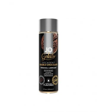 SABORES LUBRICANTES SYSTEM JO - GELATO DECADENT DOUBLE CHOCOLATE LUBRICANT WATER-BASED 120 ML