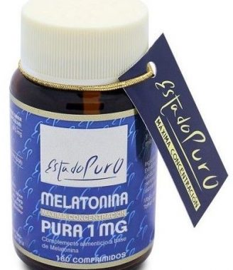 MELATONINA PURA 1 MG 180 COMPRIMIDOS