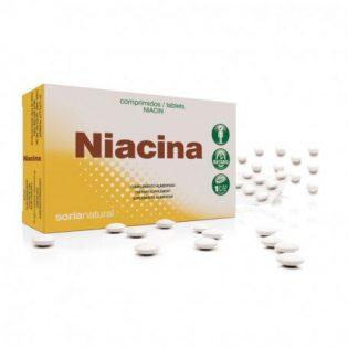 VITAMINA B3 NIACINA RETARD 48 COMPRIMIDOS SORIA NATURAL