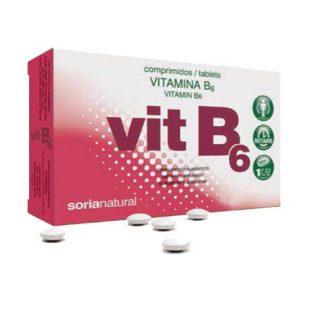 VITAMINA B6 COMPRIMIDOS SORIA NATURAL