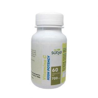 VITAMINA C HIGH POTENCY 60 CAPSULAS 700 MG